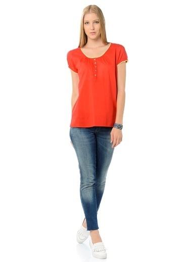 Asymmetry Bluz Kırmızı